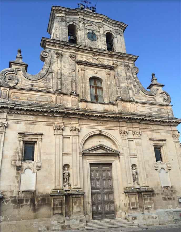 basilica di santa maria la nova chiaramonte gulfi