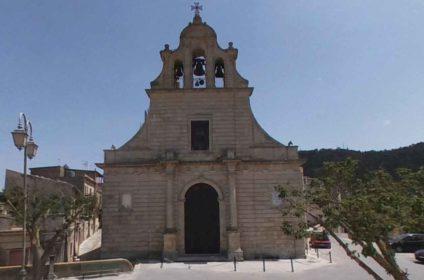 chiesa di san giovanni battista chiaramonte gulfi