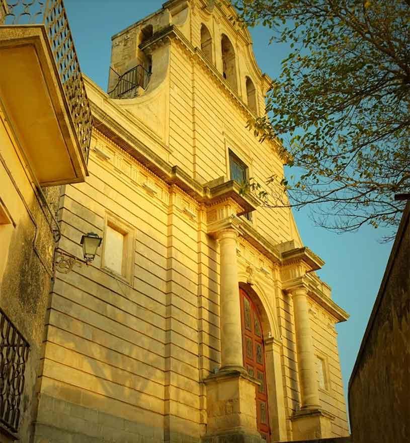 chiesa di san giovanni battista a chiaramonte gulfi
