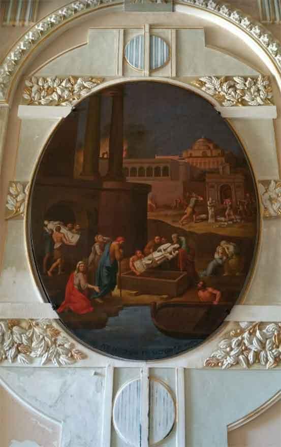 Dipinto del Santuario della Beata Maria Vergine