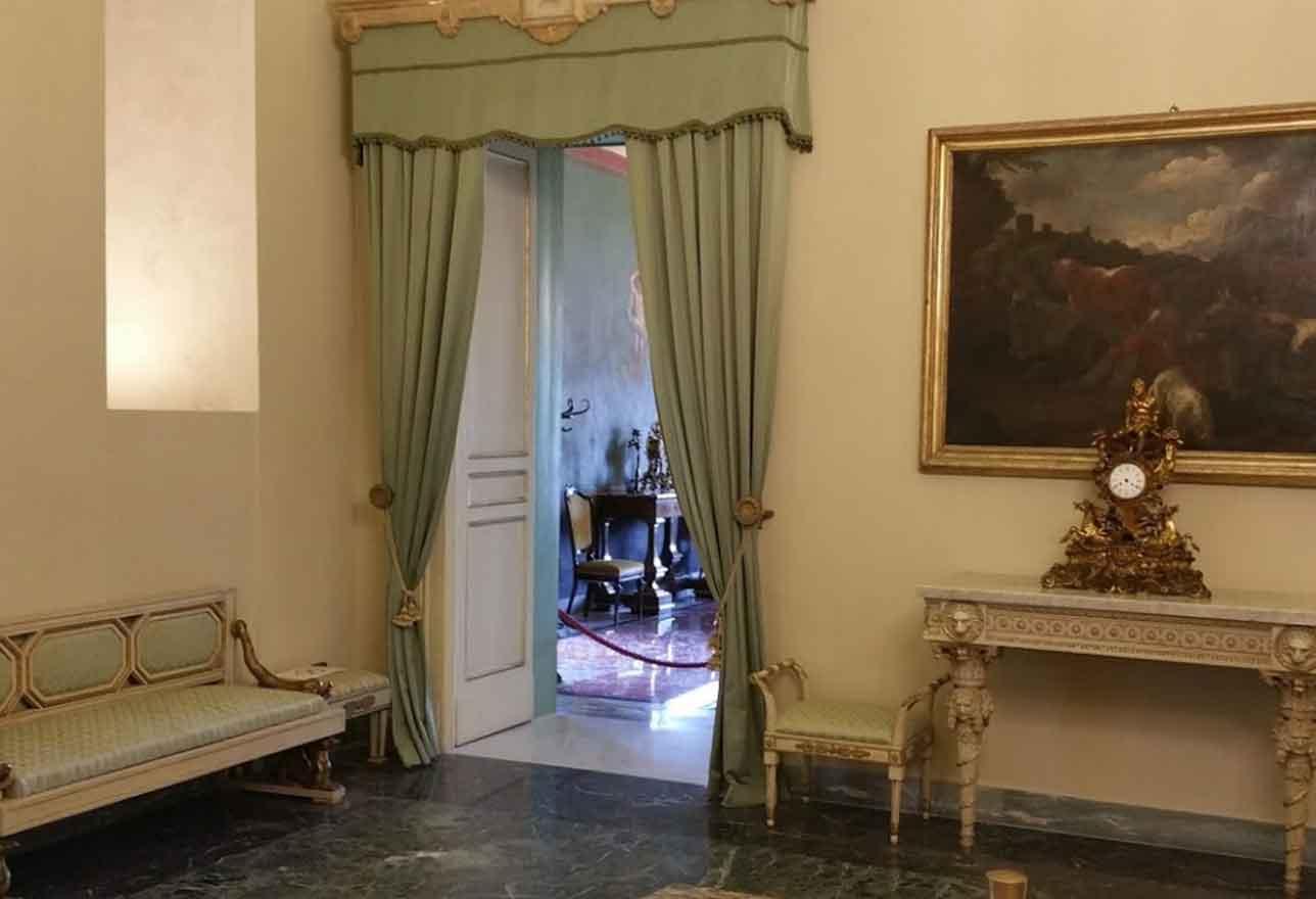 interni palazzo normanni di palermo