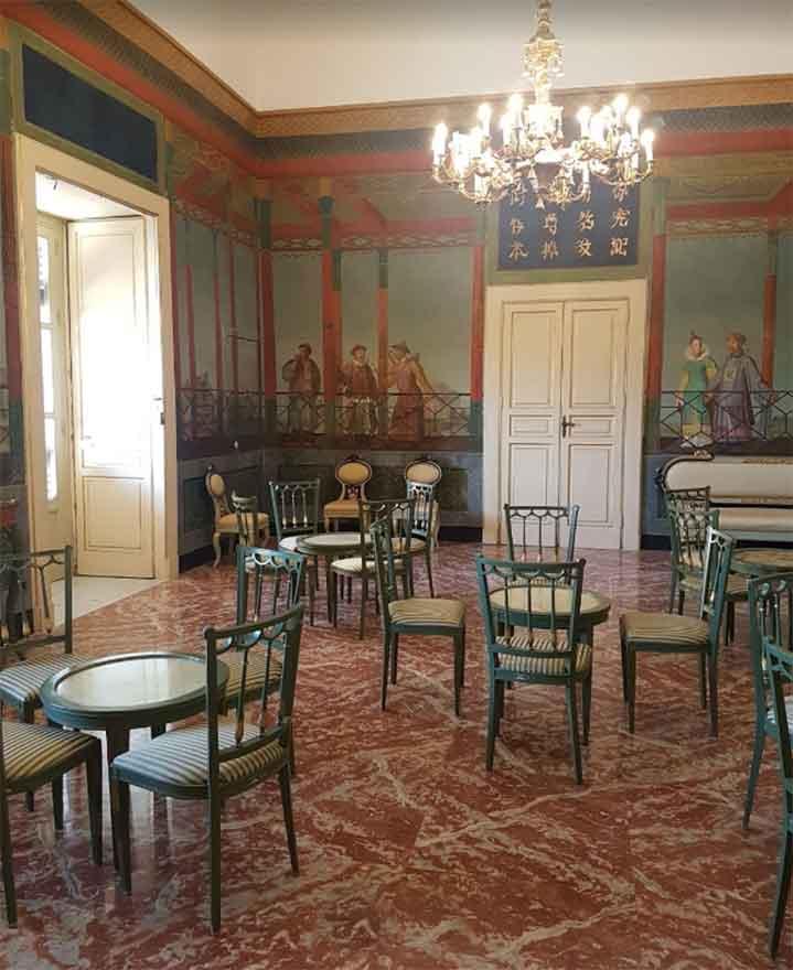 camere palazzo normanni palermo