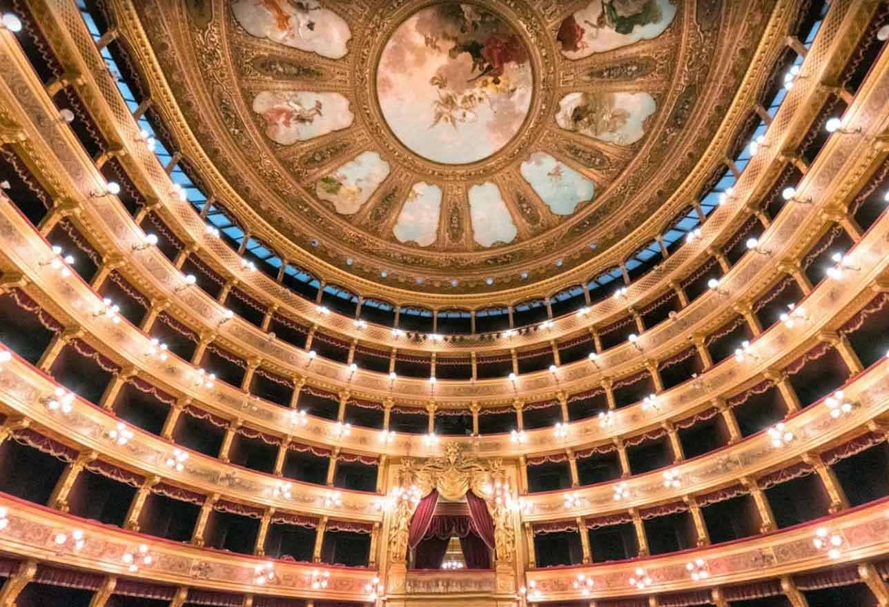 Sala Teatro Massimo di Palermo