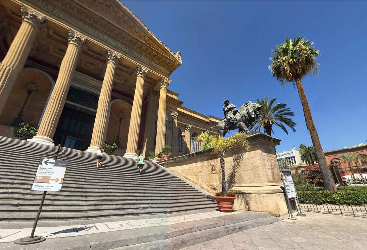 Teatro Massimo Vittorio Emanuele a Palermo