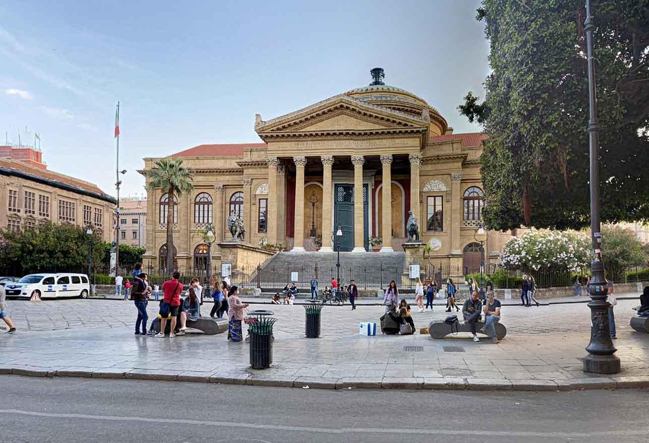 Teatro Massimo Palermo Piazza Verdi