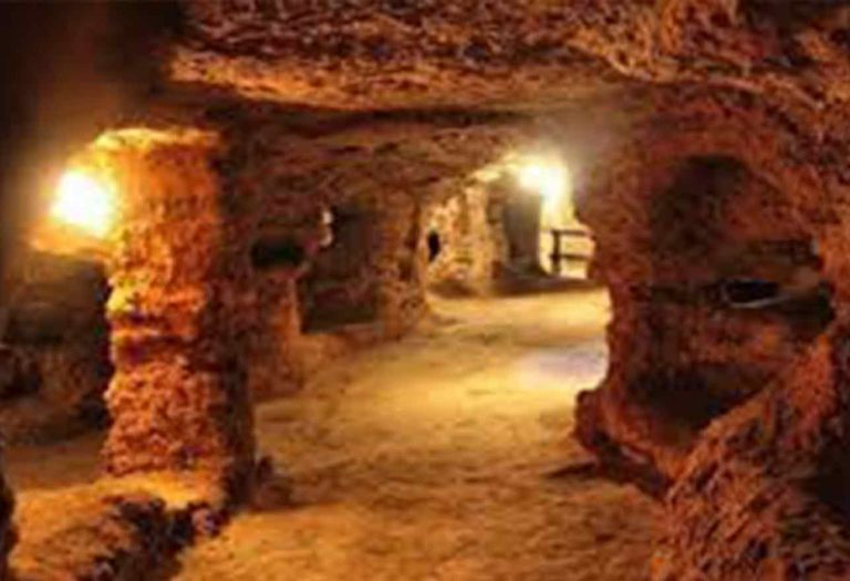 Catacombe di Porta d'Ossuna a Palermo