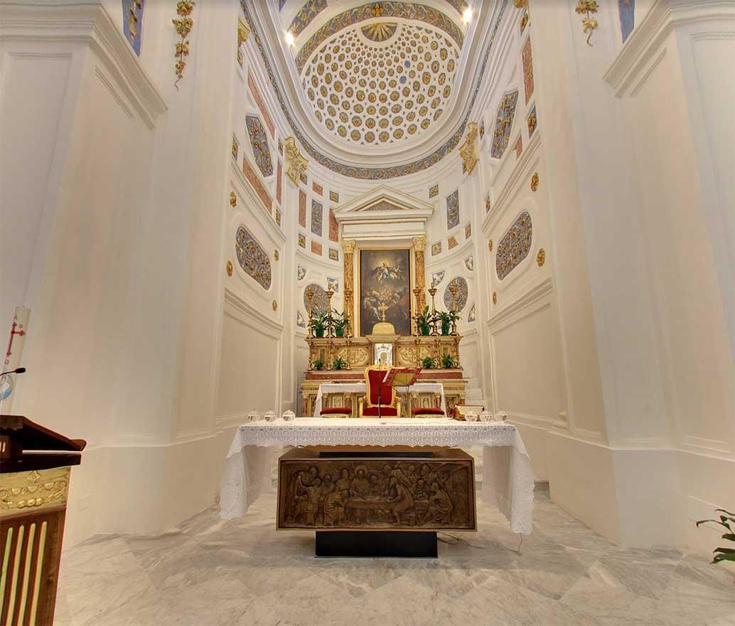 altare chiesa madre sutera