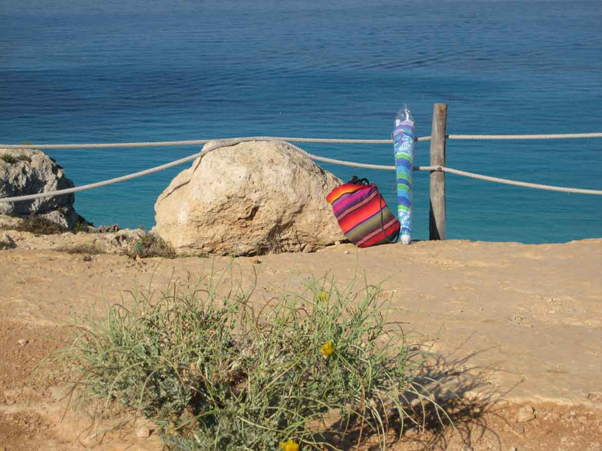 spiagge isola lampedusa