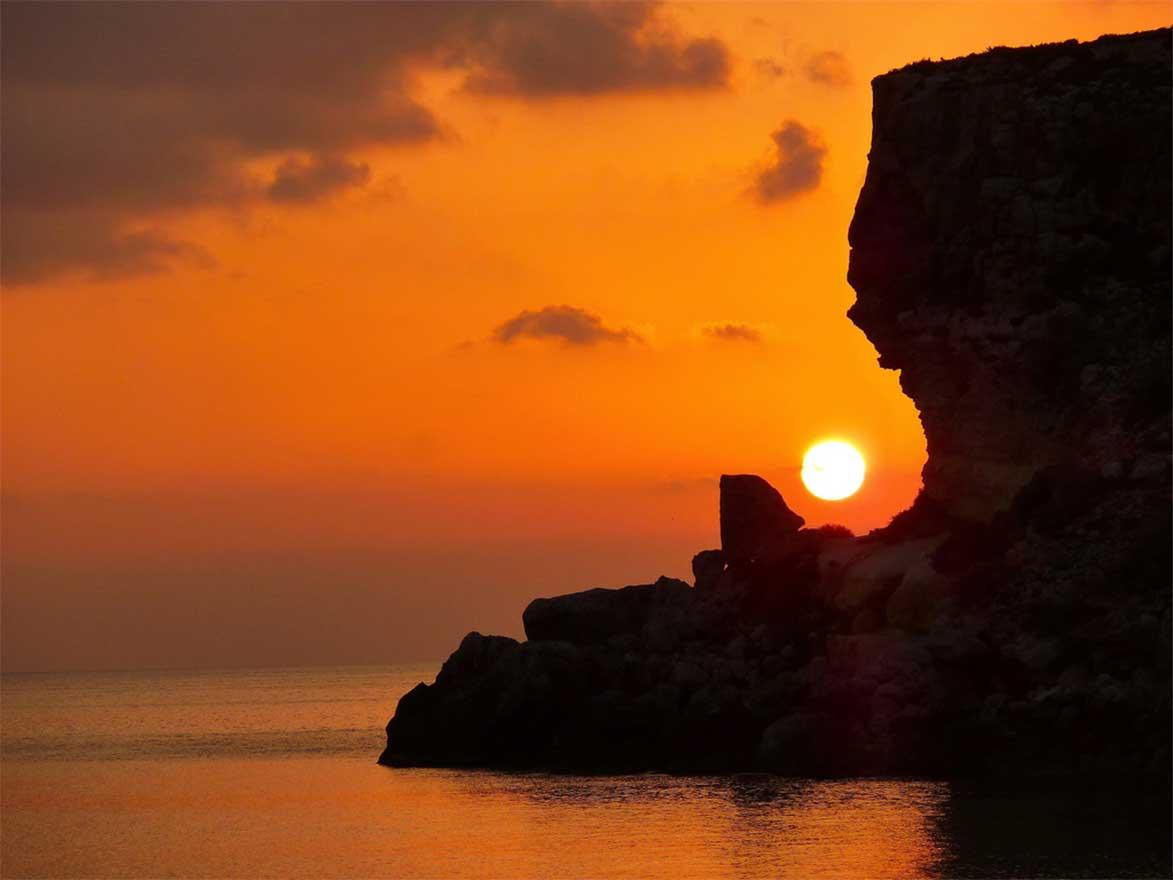 paesaggi isola lampedusa