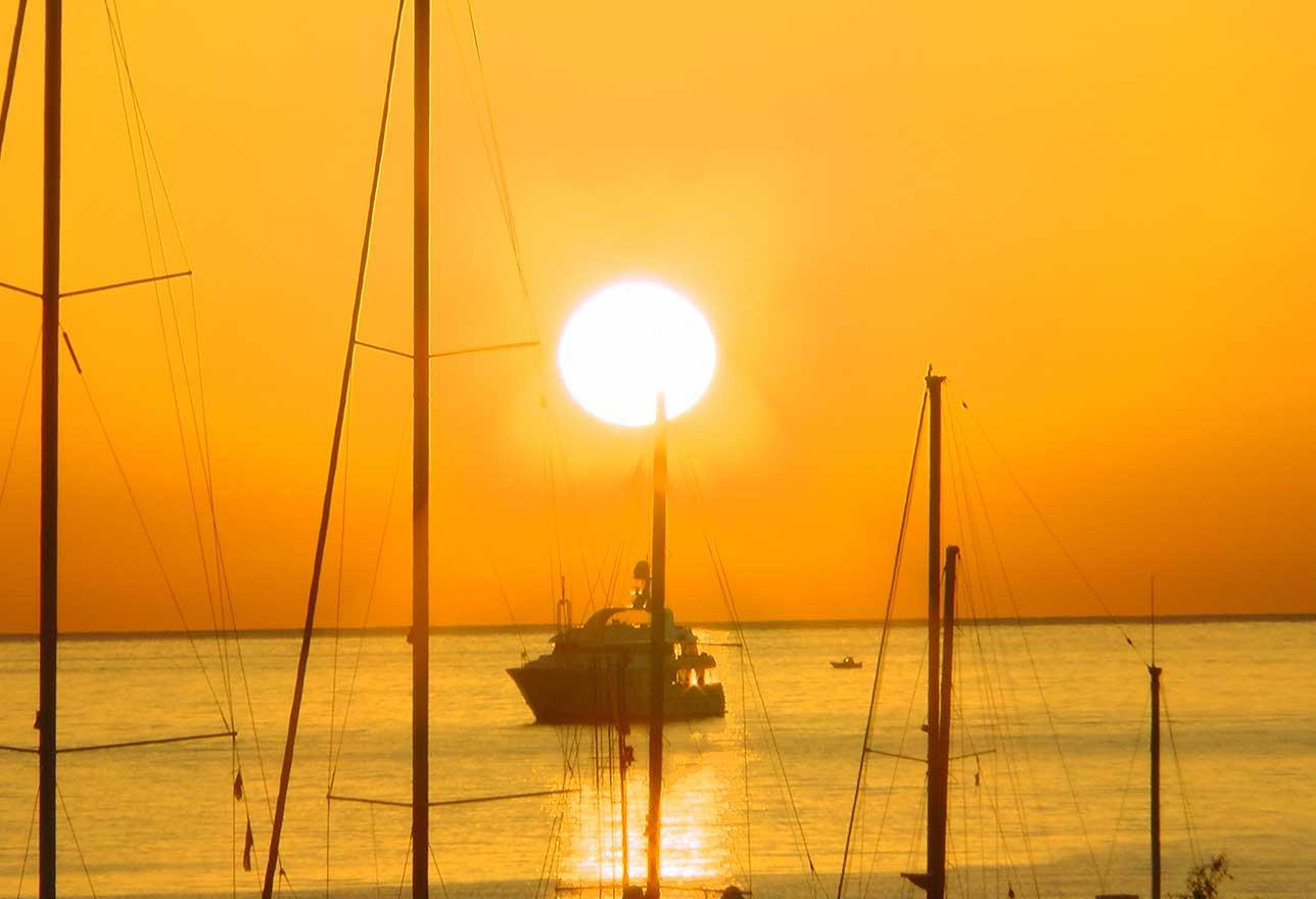 tramonto a san vito lo capo