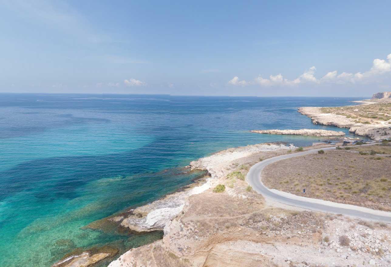 Spiaggia del Bue Marino a san vito lo capo