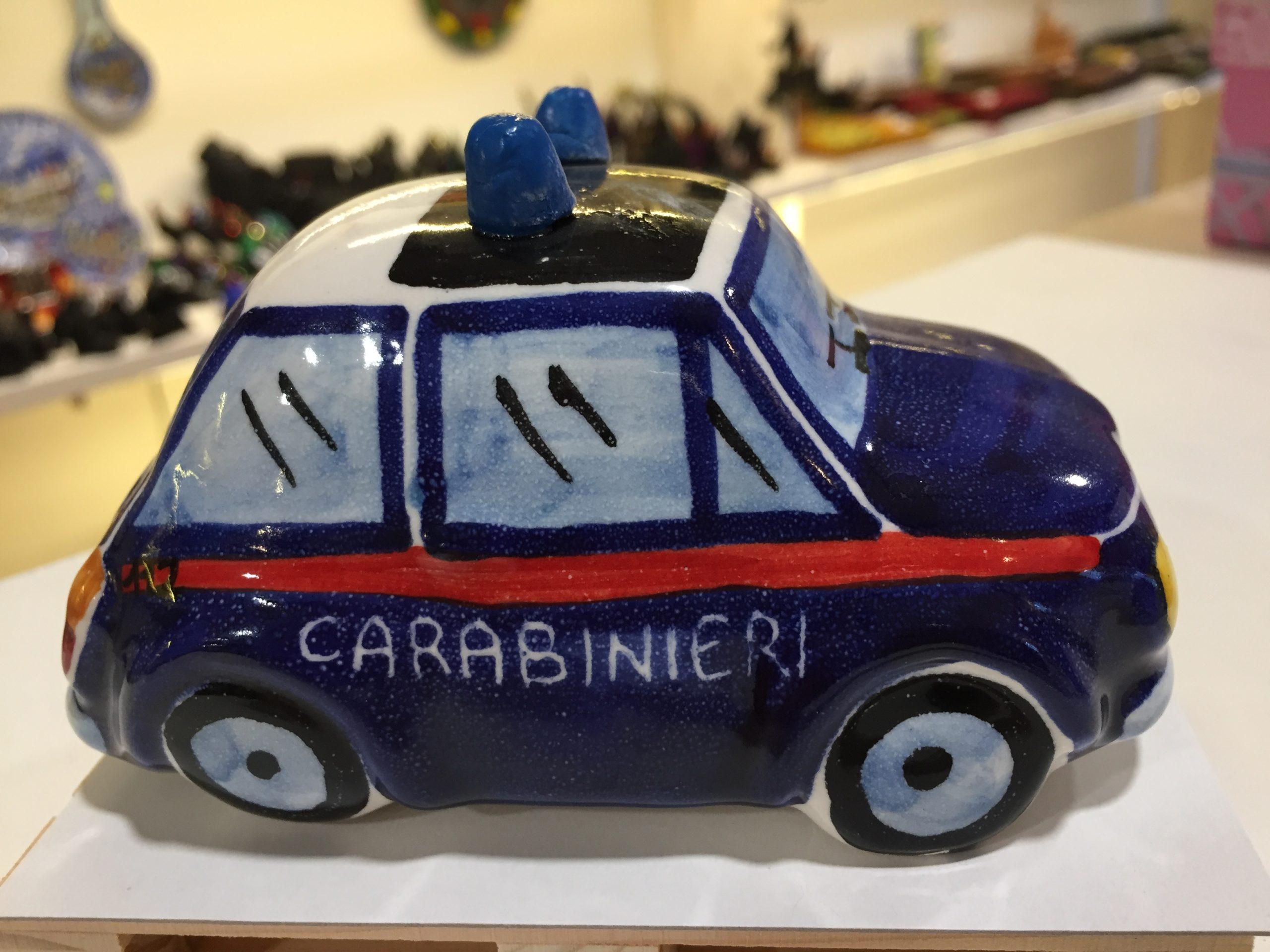 500 Carabinieri in Ceramica di Caltagirone
