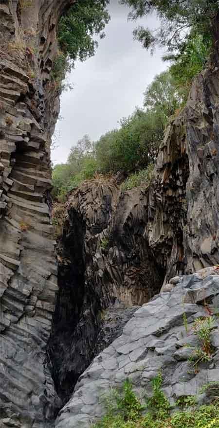 Gole dell'Alcantara castiglione di sicilia