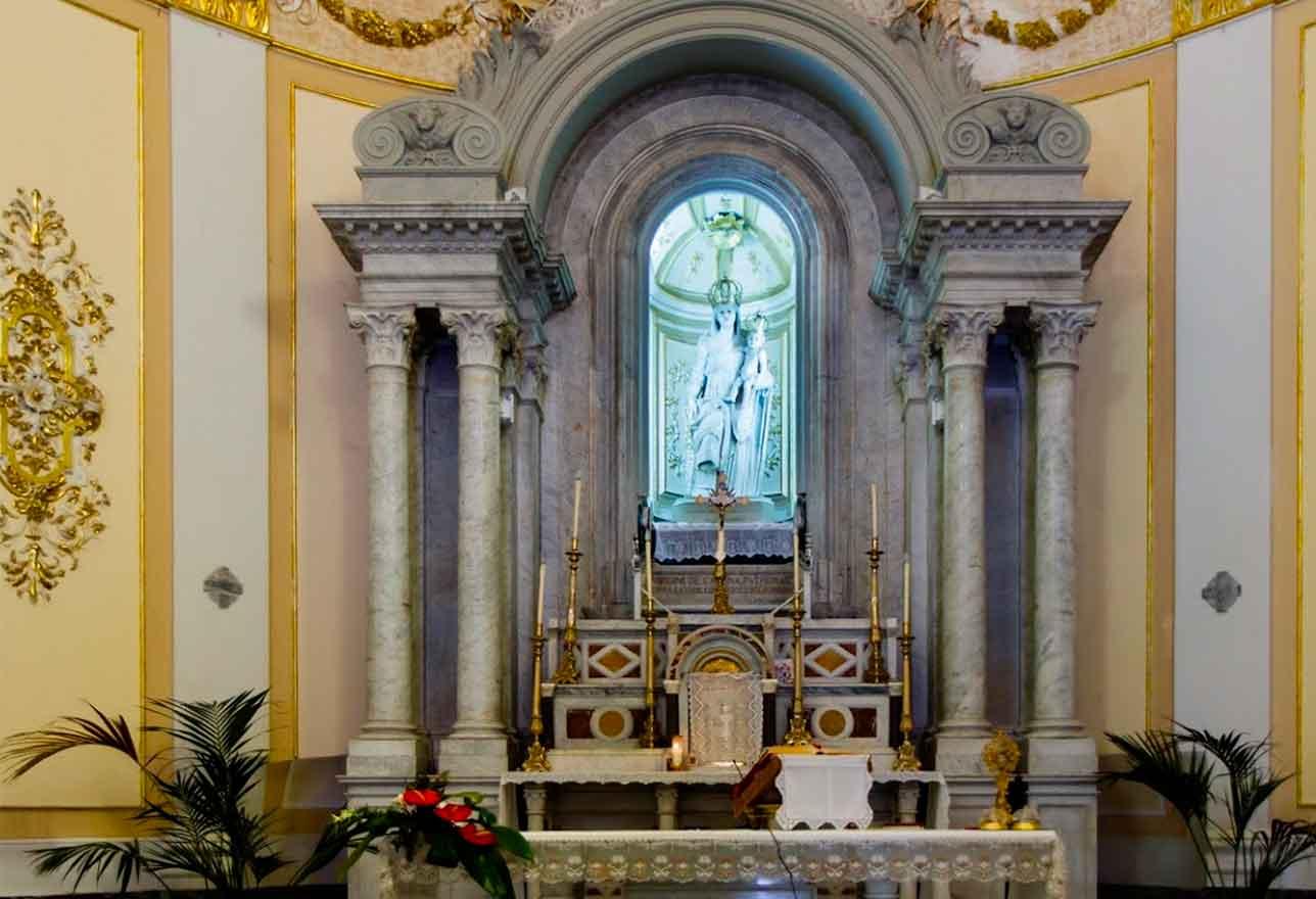 chiesa Maria Santissima della Catena a Castiglione di Sicilia