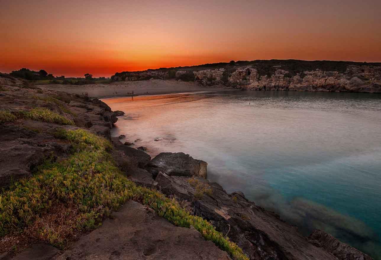Spiaggia Calamosche a Noto