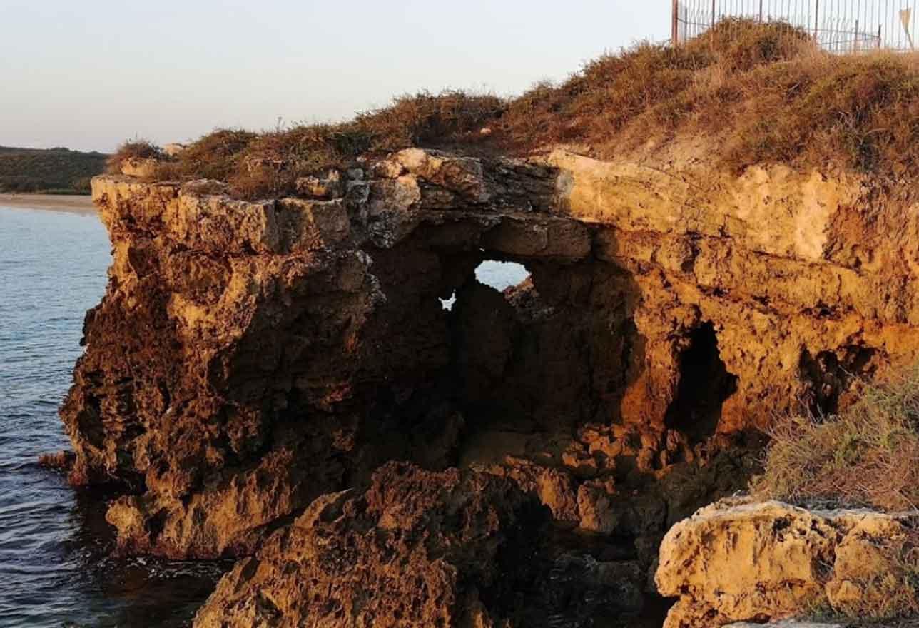 Sito archeologico Spiaggia Eloro a Noto