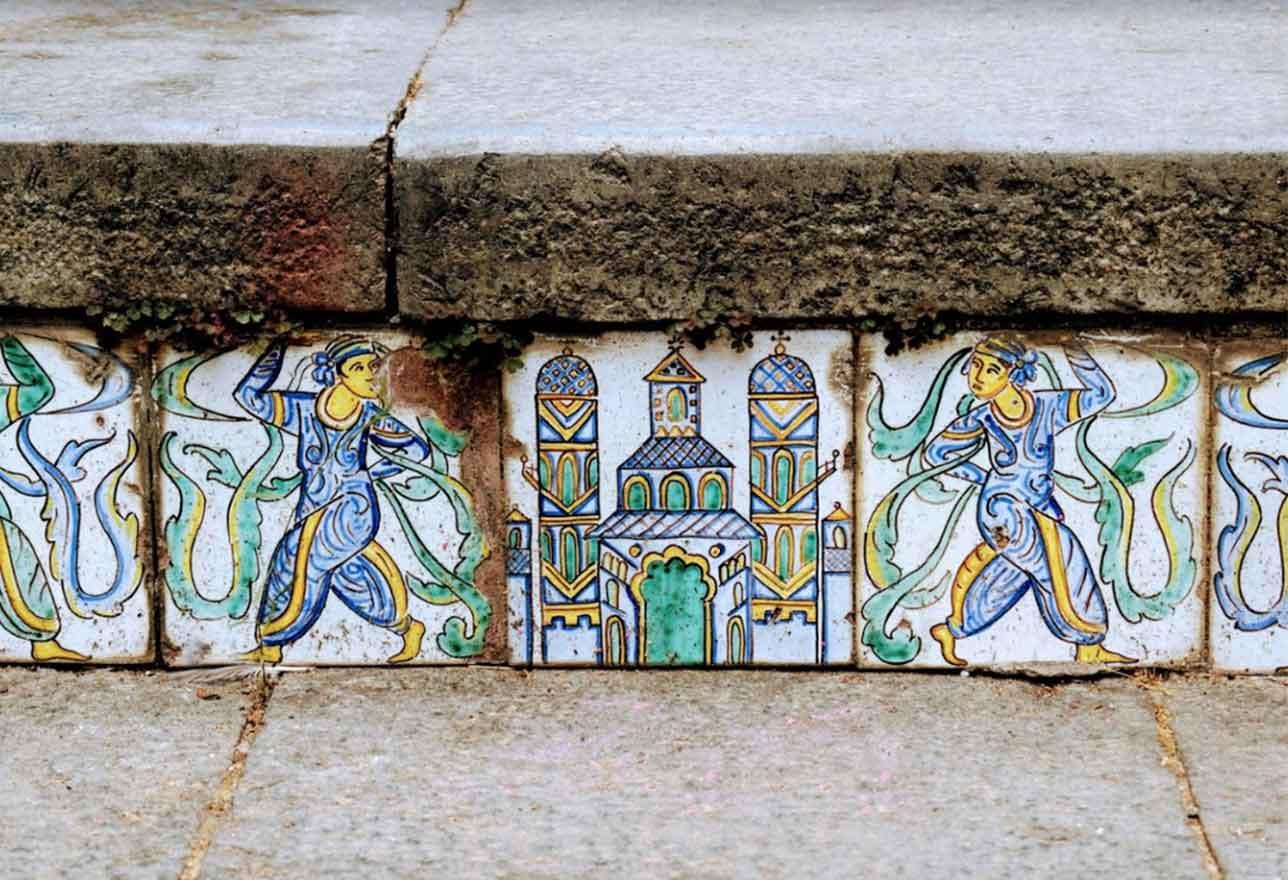 Ceramica Scalinata Caltagirone