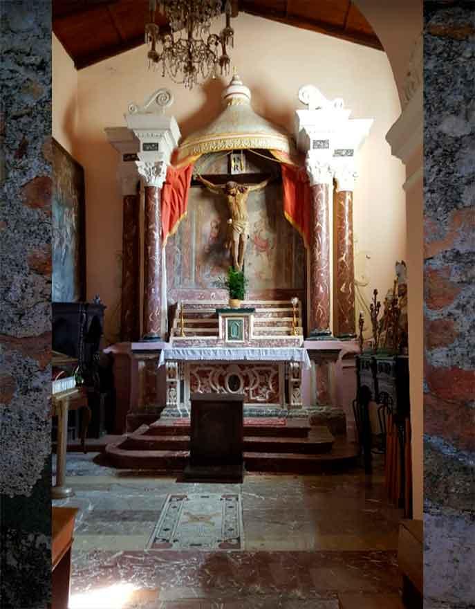 chiesa di san giorgio castelmola