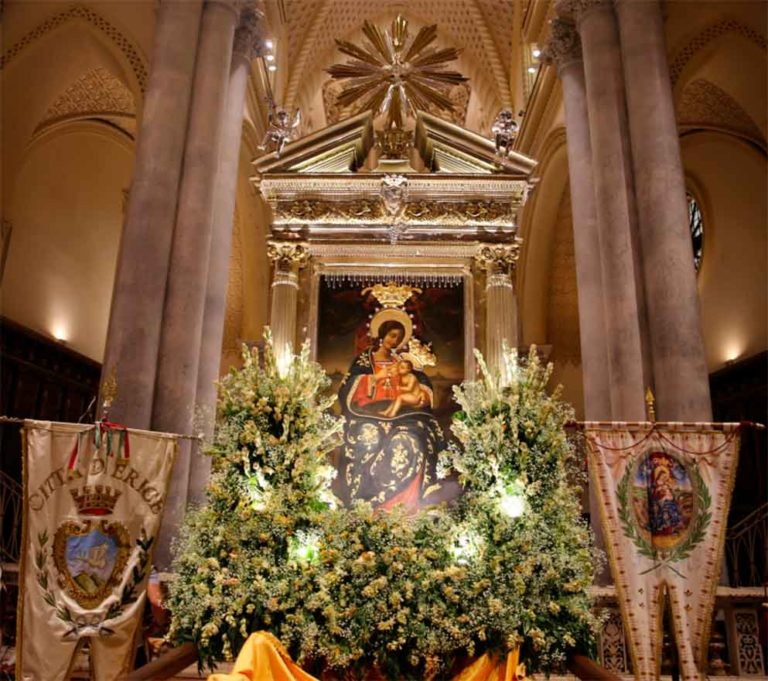 Festa di Maria Santissima di Custonaci a Erice