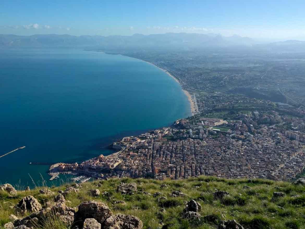 Monte Inici a Castellammare del Golfo