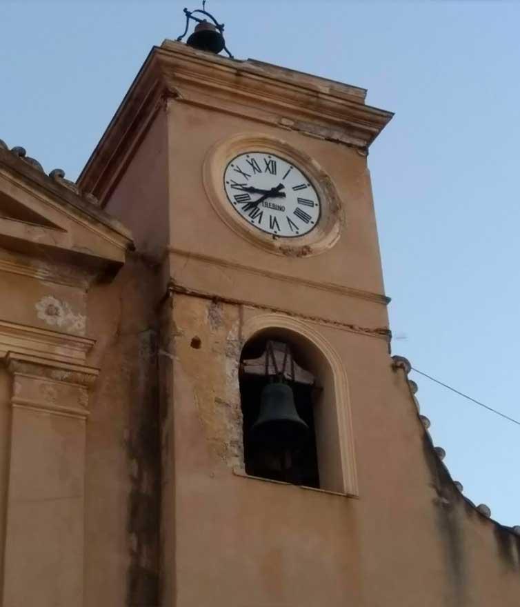 campanile Chiesa Madre di Santa Petronilla a Trabia