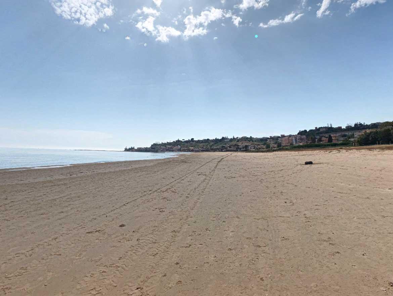 litorale porto empedocle