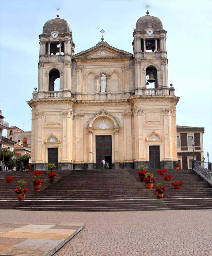 Chiesa Santa Maria della Provvidenza a Zafferana Etnea