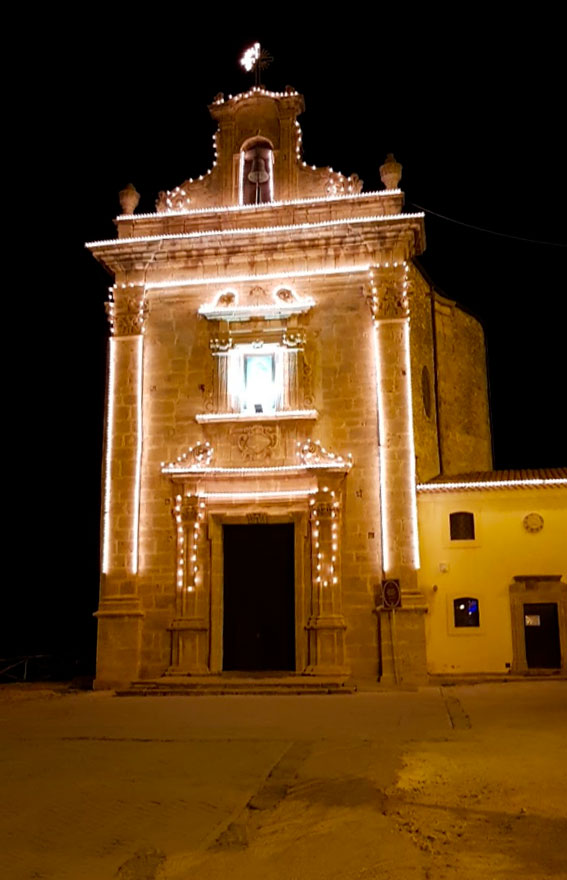 Santuario di Maria Santissima del Bosco a Niscemi