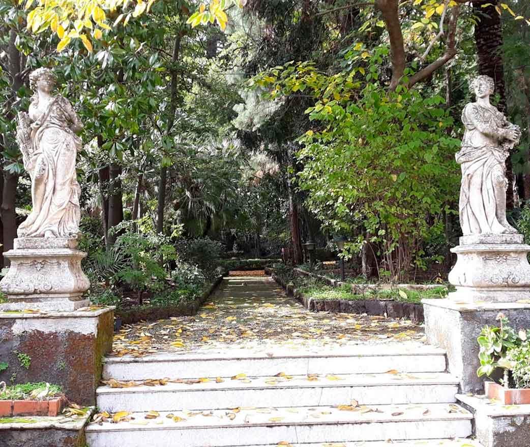 i giardini Villa Manganelli Biscari