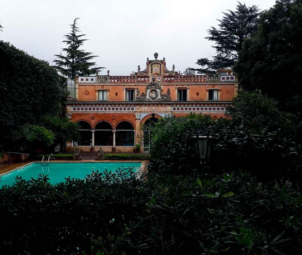 Villa Manganelli Biscari a Viagrande