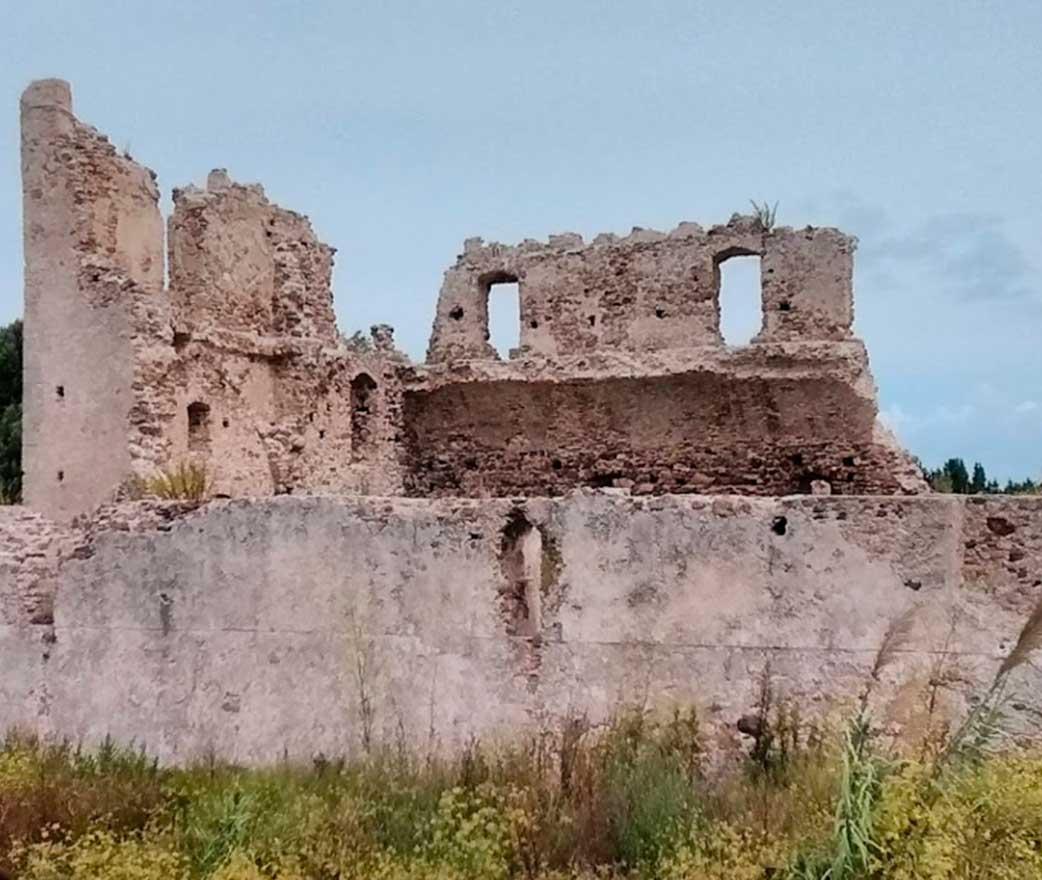 ruderi del castello di bivona