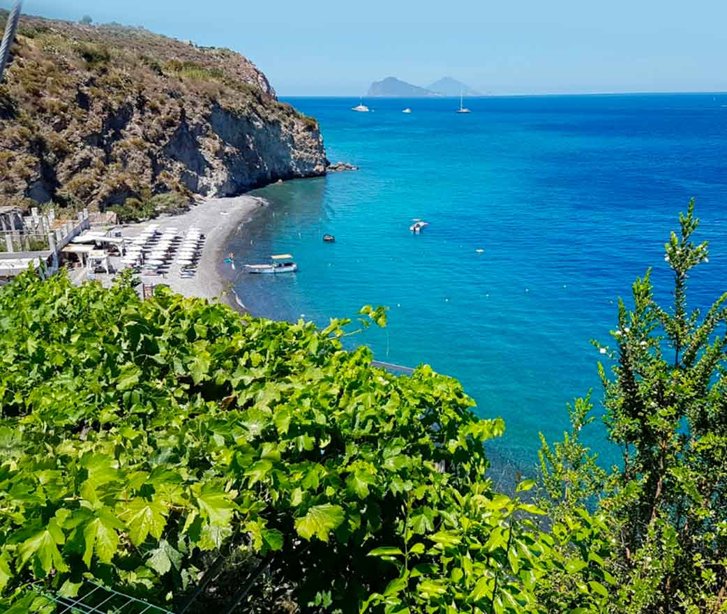 Spiaggia Pomice Isole Eolie