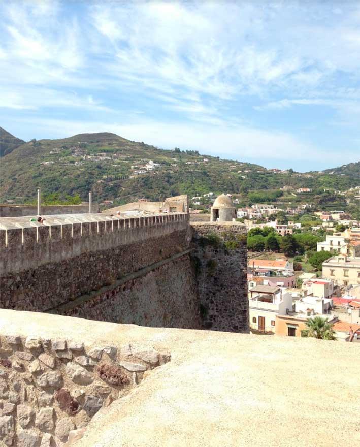 castello storico lipari