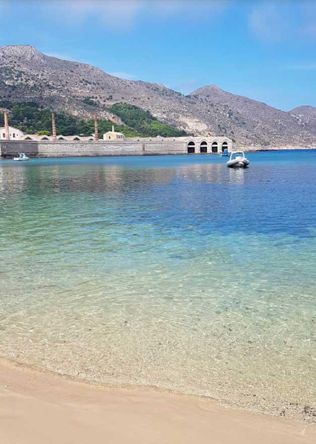 Spiaggia Praia Favignana Isole Egadi