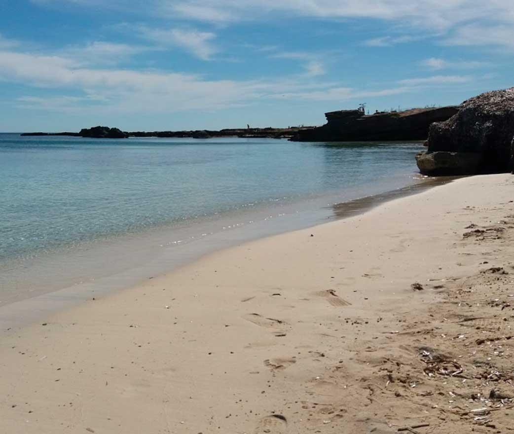 Spiaggia Calamoni isole egadi favignana