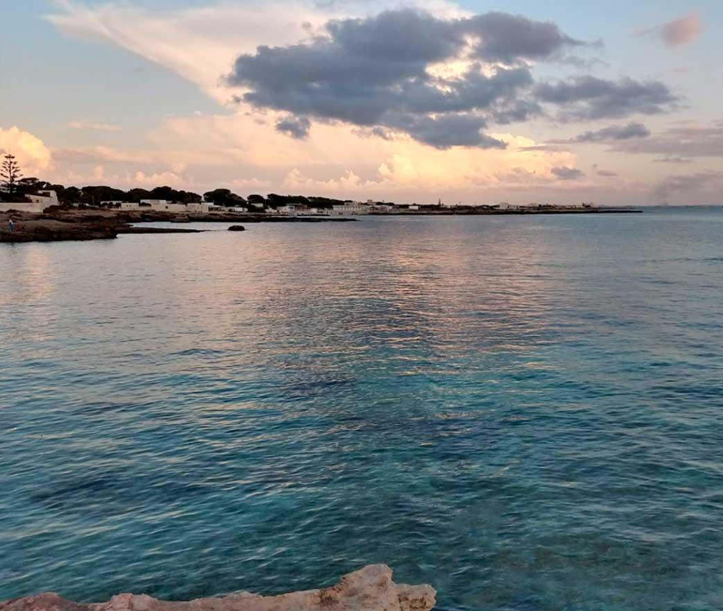 tramonto Spiaggia Calamoni