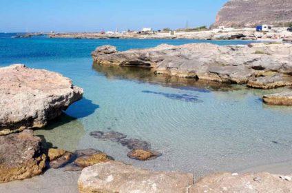 Spiaggia Calamoni a Favignana