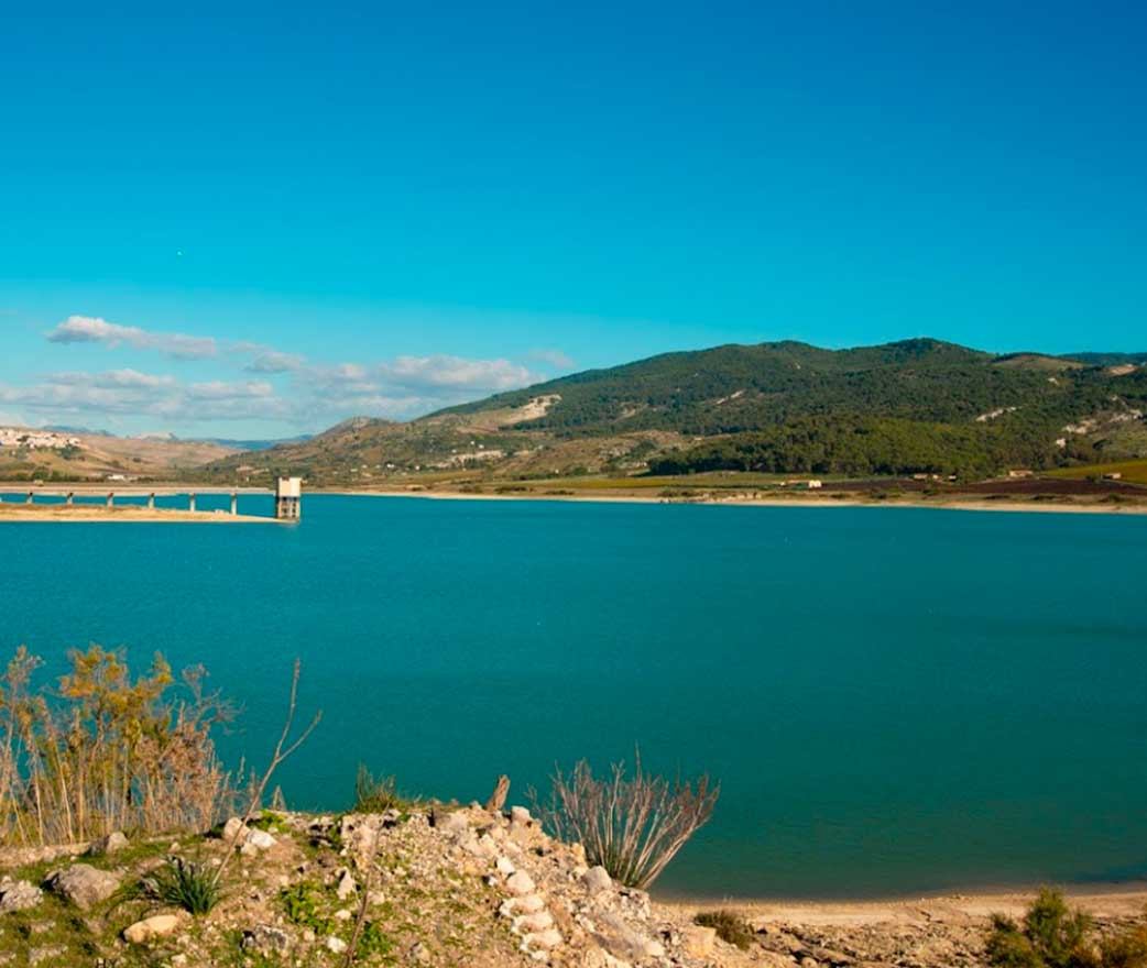 Fortino di Mazzallakkar Lago Arancio