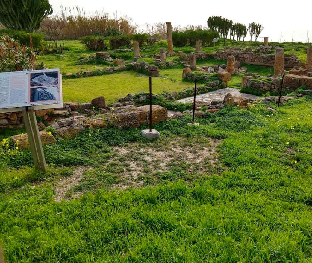 resti di villa romana realmonte