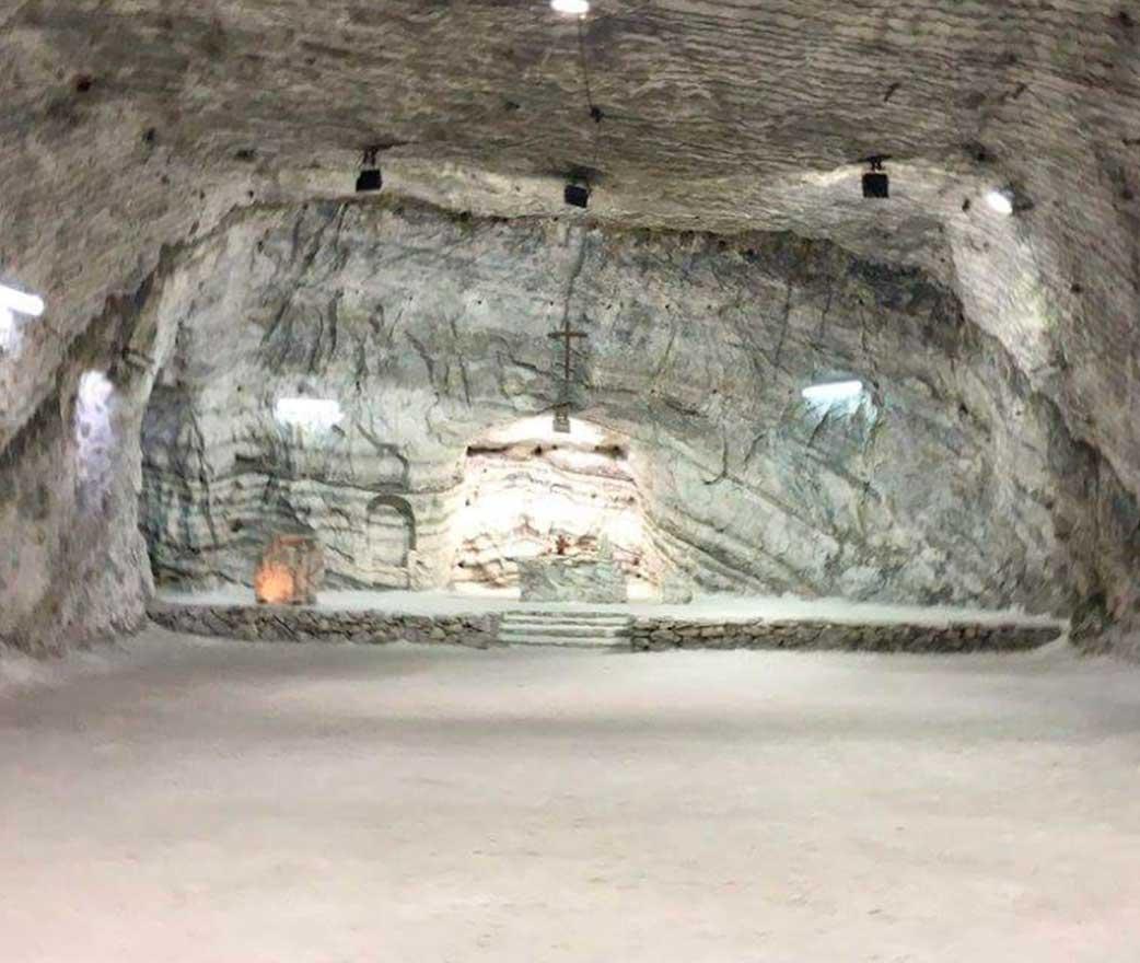 cattedrale di sale realmonte