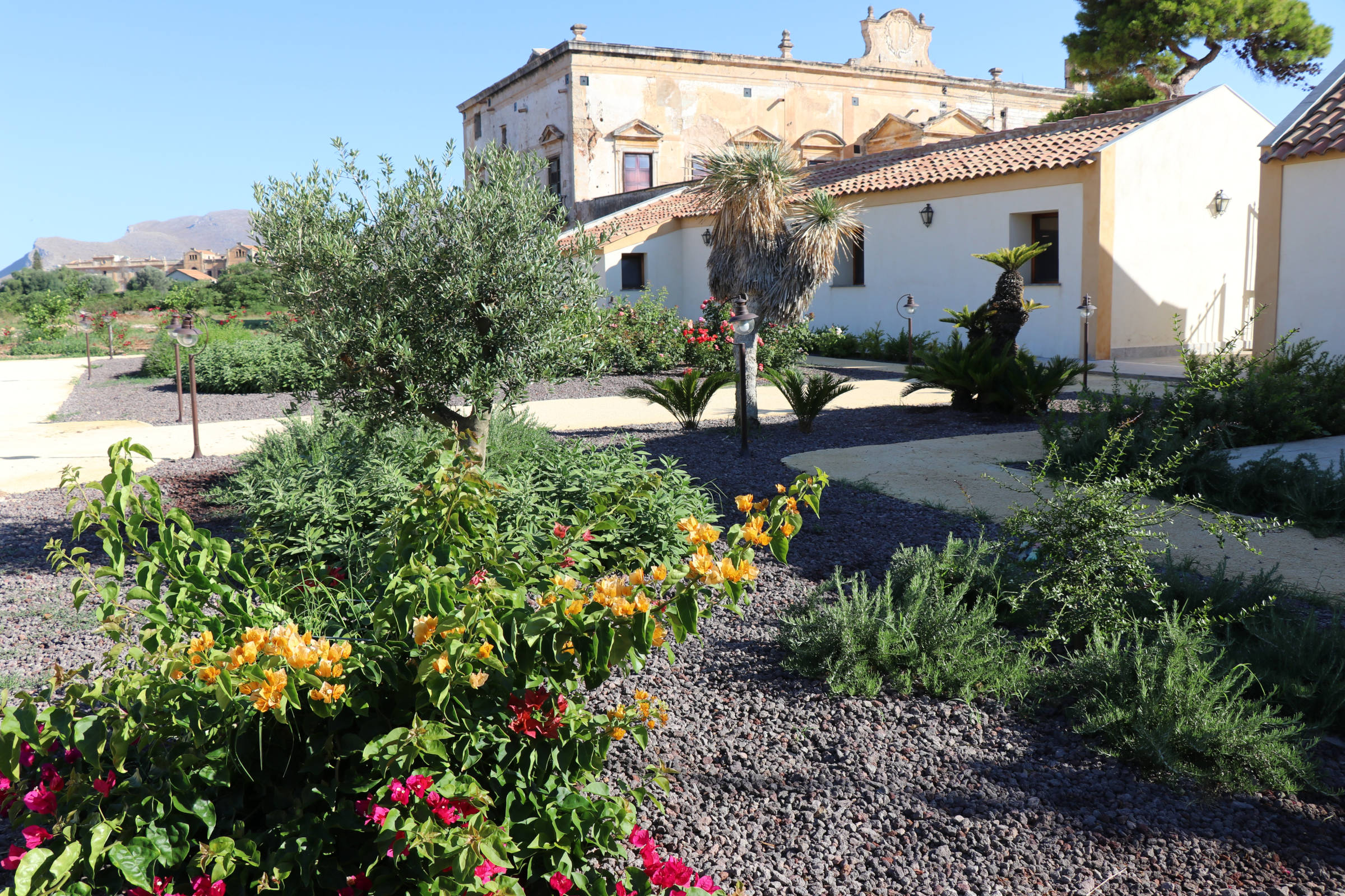 Giardino Villa Lampedusa