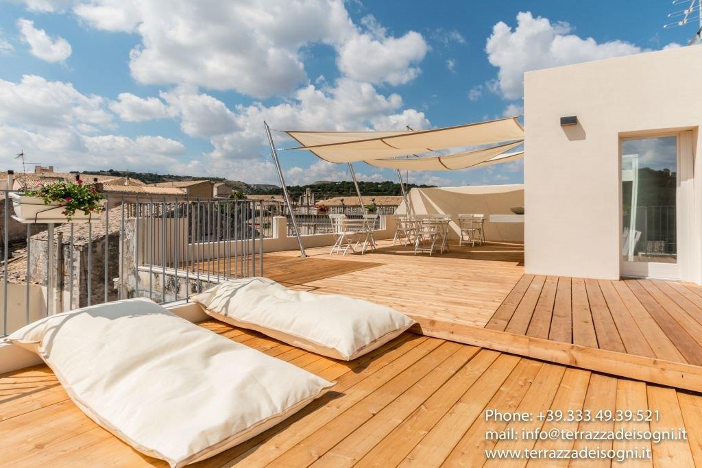 area relax in terrazza