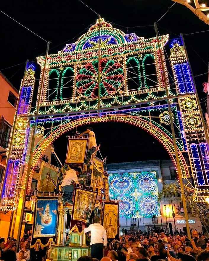 Festa di Maria Santissima del Monte a Racalmuto
