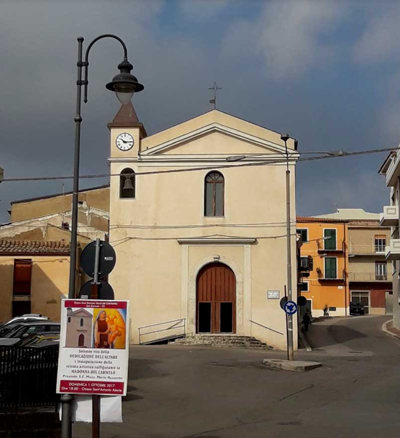 Chiesa Sant'Antonio Abate a San Cataldo