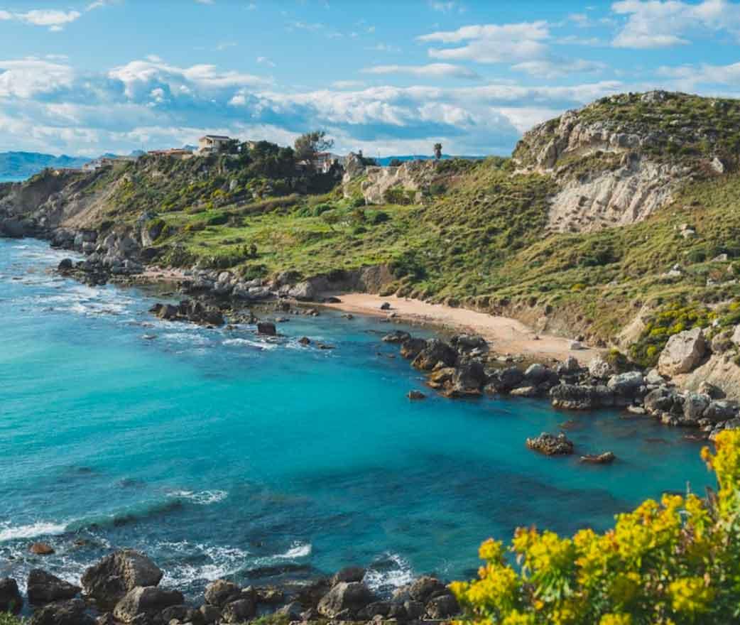 Spiaggia Cala Paradiso a Licata