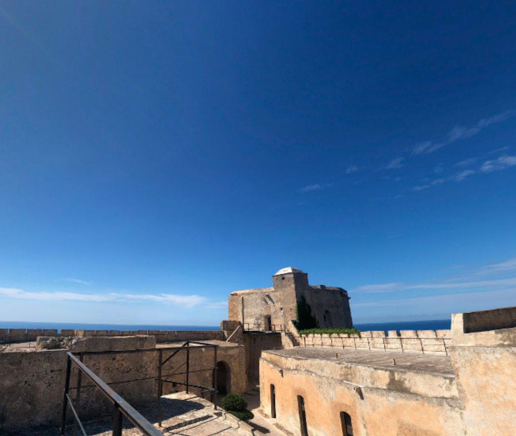 Vista dal Castel Sant'Angelo Licata