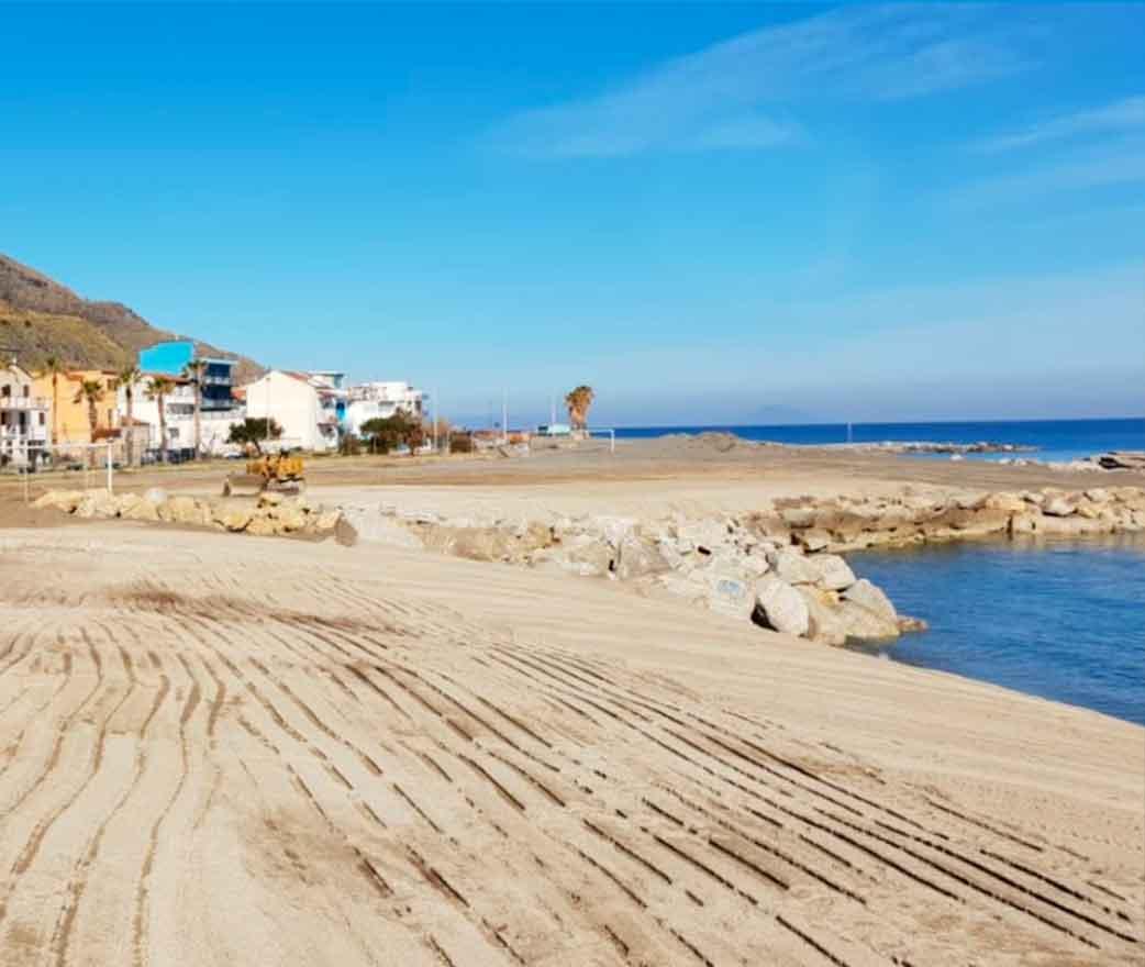 Spiaggia San Giorgio a Gioiosa Marea