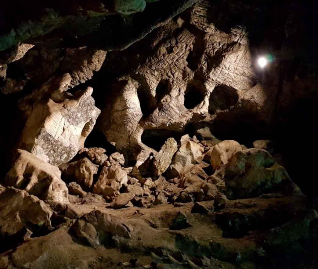 Grotta del Tono a Gioiosa Marea