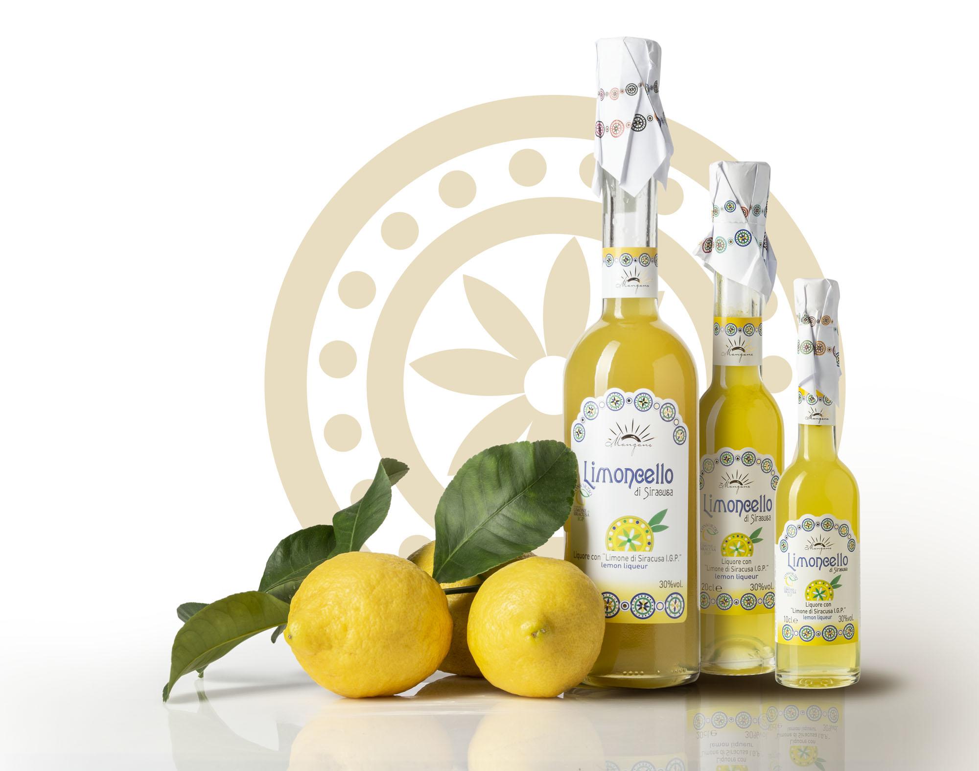 Limoncello Liquore con Limone di Siracusa IGP