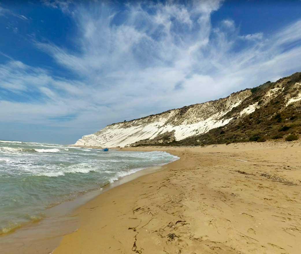 Spiaggia Funcitedda a Siculiana